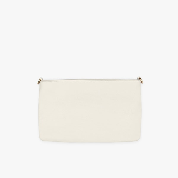 flap bag | taupe pocket in vegan leather