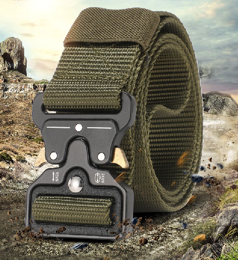 """Double Duty"" Rugged Tactical Belt"