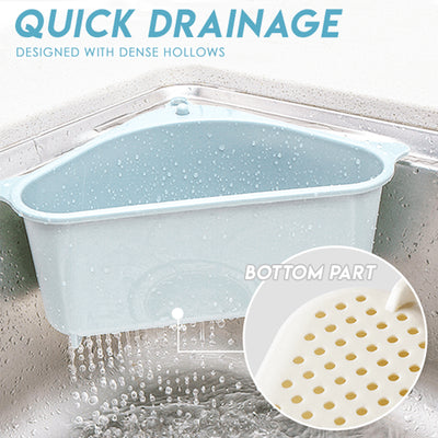 New Kitchen Triangular Sink Strainer Drain