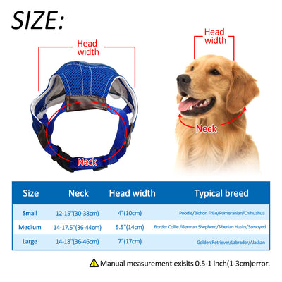Didog Mesh Dog Sun Hat Fashion Baseball Cap Breathable Sport Hats With Ear Holes Fot Pets Outdoor Summer Headwear Accessories - Wizefive