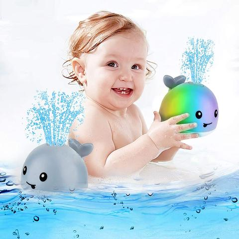 Willie The Sprinkler Whale Bath Toy - Baby Sprout