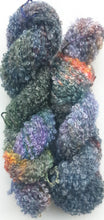 "Load image into Gallery viewer, ""Mist"" Mohair/Viscose/Merino Blend Hand Dyed Yarn"
