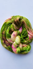 "Load image into Gallery viewer, ""Lady Slimer"" Hand Dyed Merino Wool Yarn"