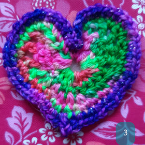 Crocheted Valentines
