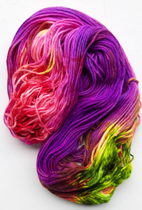 """Shug Avery"" 75/25 Merino/Nylon Hand Dyed Wool Yarn"