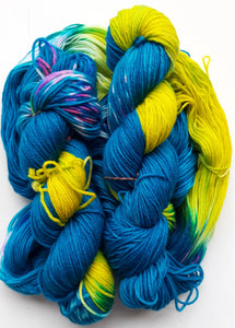"""Upward"" Merino Wool Hand Dyed Yarn"