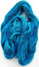"Load image into Gallery viewer, ""Zima Blue"" Hand Dyed Wool Yarn"
