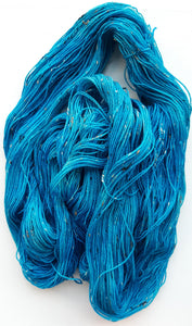 """Zima Blue"" Hand Dyed Wool Yarn"