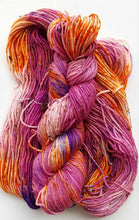 "Load image into Gallery viewer, ""Alien Flowers"" Hand Dyed Wool Yarn"