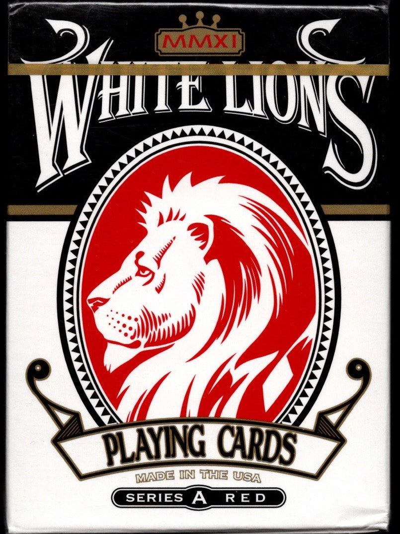 White Lions Series A - Red