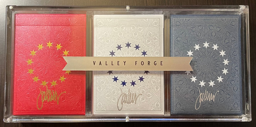 Valley Forge Gilded triple set #9 of 30