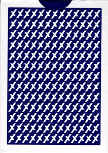 X Playing Cards - Blue