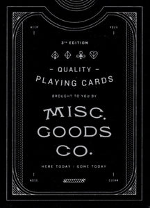 Misc Goods 3rd Edition - Black misprint