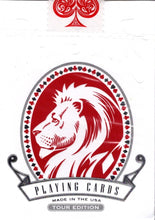 Load image into Gallery viewer, White Lions Series B Tour - Red Reverse