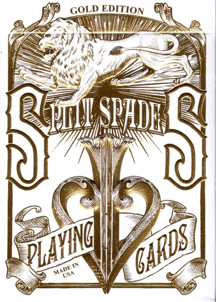 Split Spades - Gold