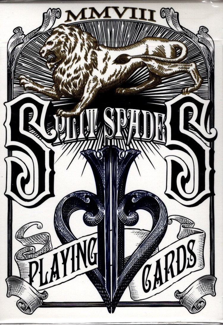Split Spades - Blue