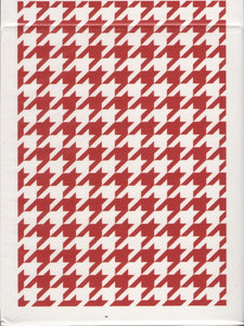 Houndstooth - Black or Red