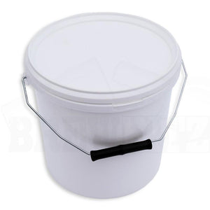 10-litre-fermentation-bucket-lid-plain-white for sale