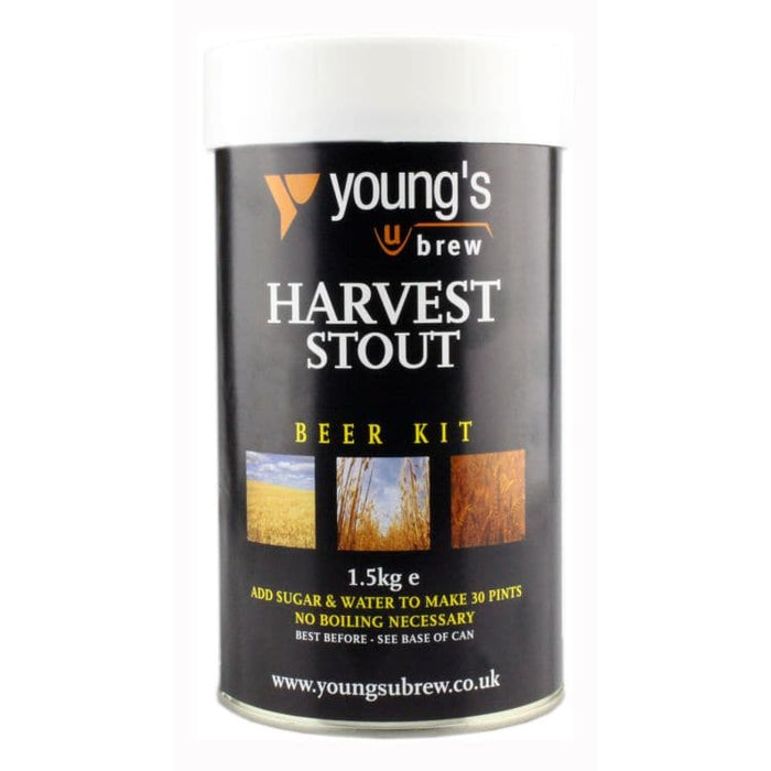 Harvest Stout Kit Youngs - 30 Pint Beer Kit