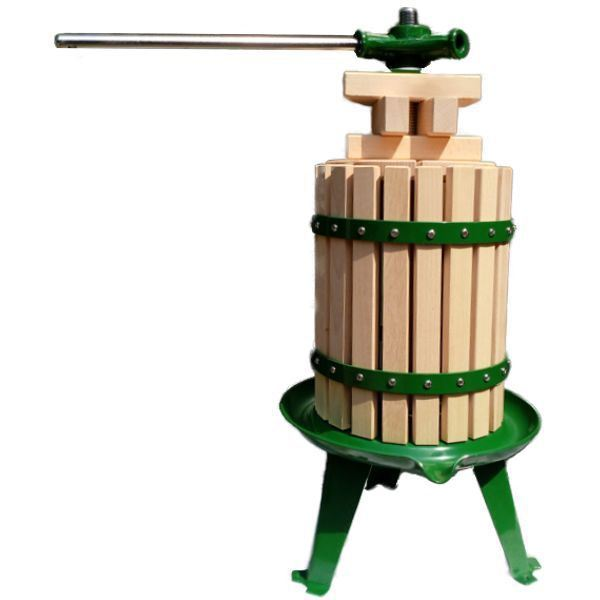 Apple (Cider), Grape (Wine) & Fruit Press - 6 Litre - Vigo