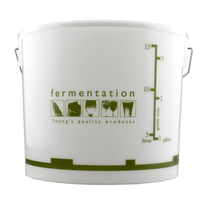 15 Litre Youngs Fermentation Bucket & Lid