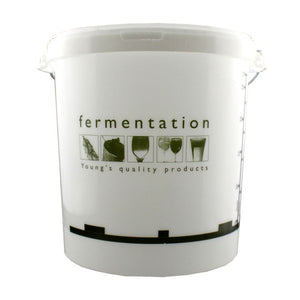 33 Litre Youngs Fermentation Bucket with Lid & Grommet for Airlock