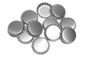 crown-caps-silver-40-pack for sale