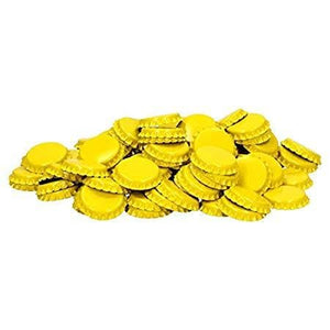 crown-caps-yellow-40-pack for sale