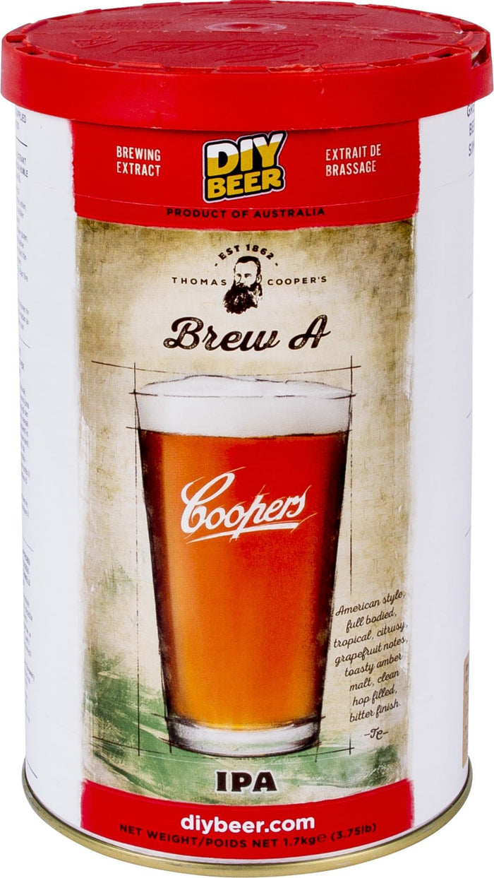 Coopers - Brew A - India Pale Ale - 40 Pint Beer Kit