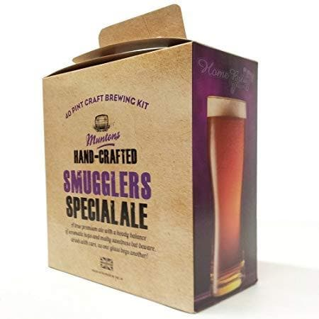 Muntons Hand Crafted - Smugglers Special - 40 Pint Beer Kit