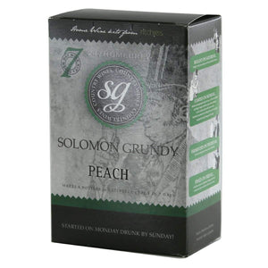 Solomon Grundy - Peach - 7 Day Fruit Wine Kit - 6 Bottle