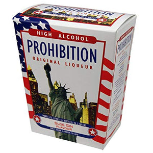 Sloe Gin Flavour - Prohibition High Alcohol Spirit Kit - Original