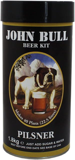 John Bull - Pilsner - 40 Pint Beer Kit