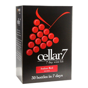 Cellar 7 - Italian Red - 30 Bottle Red Wine Kit