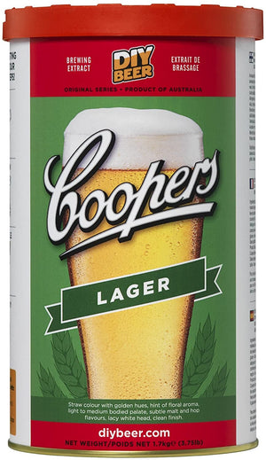 Coopers - Lager - 40 Pint Lager Beer Kit
