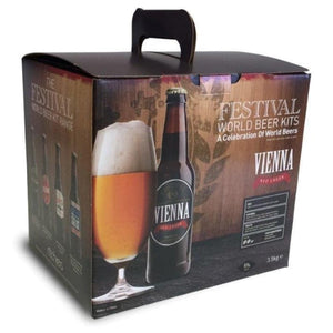 Festival World - Vienna Red Lager - 40 Pint Beer Kit