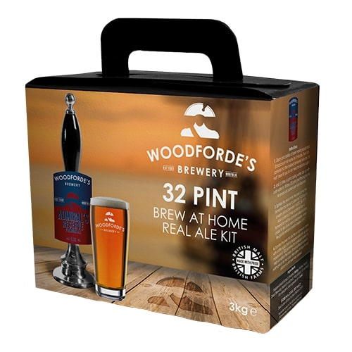 Woodfordes - Admiral's Reserve - 32 Pint Beer Kit