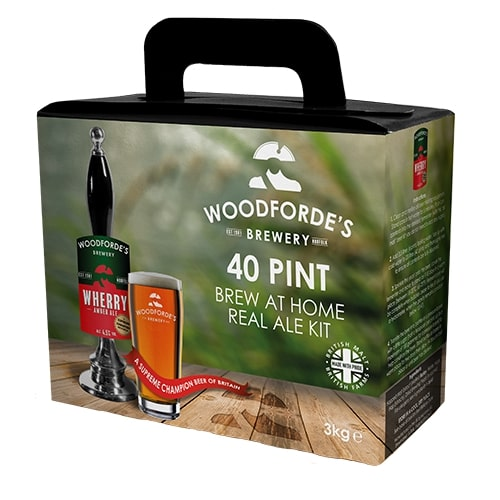 Woodfordes - Wherry Amber Ale - 40 Pint Beer Kit
