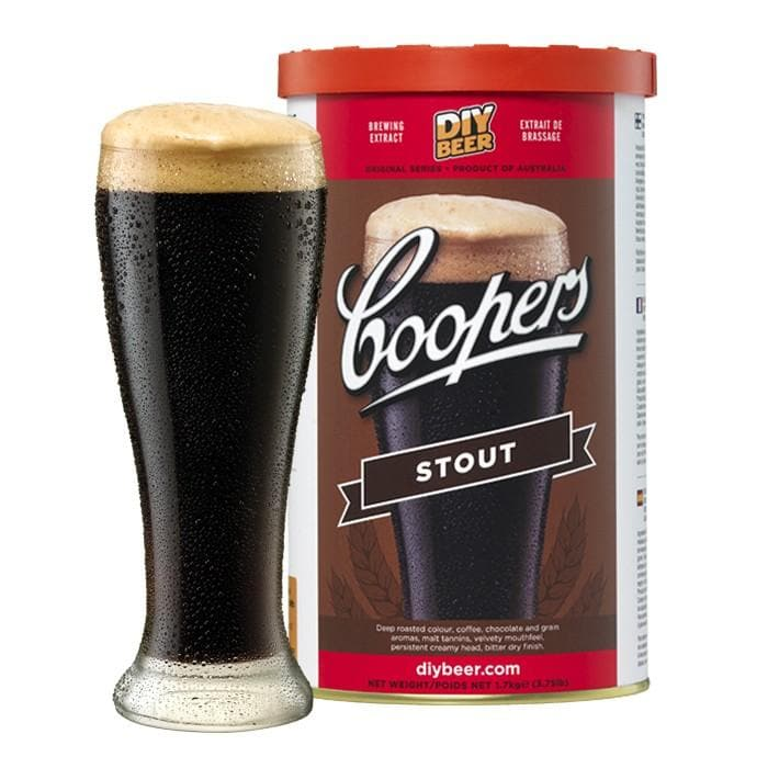 Coopers - Stout - 40 Pint Beer Kit