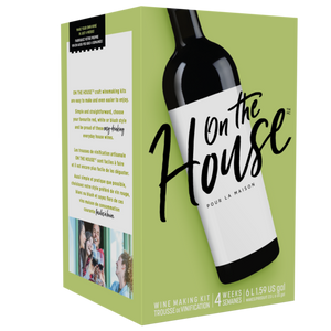 On The House - Merlot - 30 Bottle Wine Kit