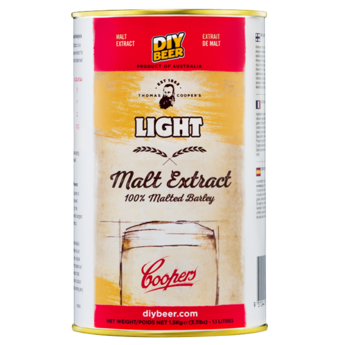 Coopers - Light Liquid Malt Extract (LME) - 1.5kg