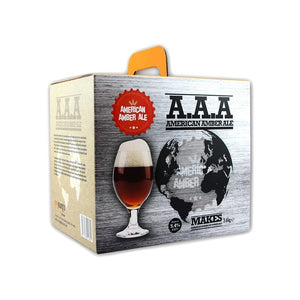 American Ales - American Amber Ale A.A.A - 40 Pint Beer Kit