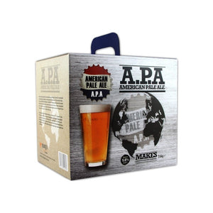 American Ales - American Pale Ale A.P.A - 40 Pint Beer Kit