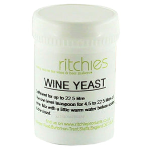Wine Yeast - 50g - Ritchies