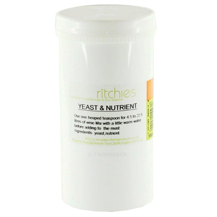 Yeast & Nutrient - 500g - Ritchies