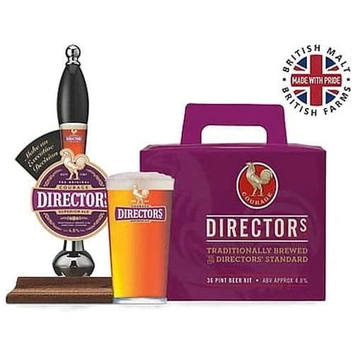 Courage - Directors Bitter - 36 Pint Beer Kit