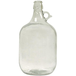 demi-john-1-gallon-1-handle-clear-glass for sale