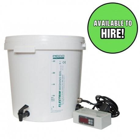 MashTun & Boiler - For Hire - Digital Temperature Control - 32L
