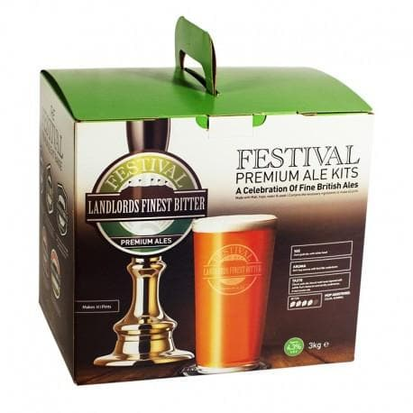 Festival Ales - Landlords Finest - 40 Pint Beer Kit