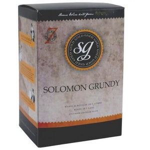 solomon-grundy-gold-merlot-7-day-wine-kit-30-bottle for sale